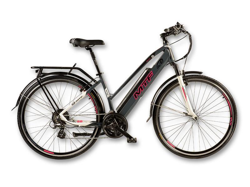 "Elektrinis turistinis/plento TREKKING/ROAD Moteriškas 3.0 dviratis 17""/19"""