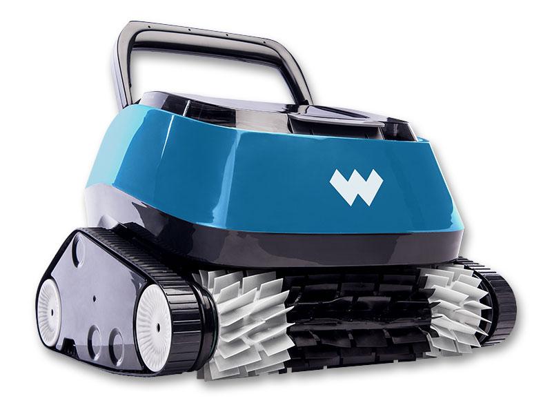 Baseino dugno valymo robotas WARRIOR