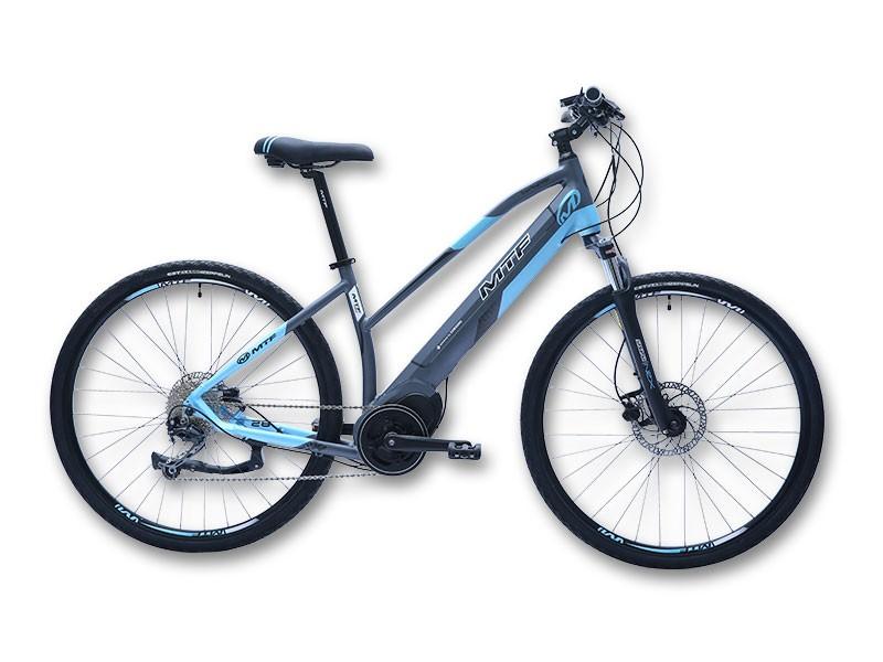 """Elektrinis hibridinis CROSS Moteriškas 5.0 dviratis 17""""/19"""""""