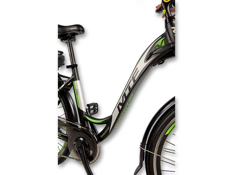 """Elektrinis miesto CITY GRAND 1.0 dviratis 17""""/19"""""""