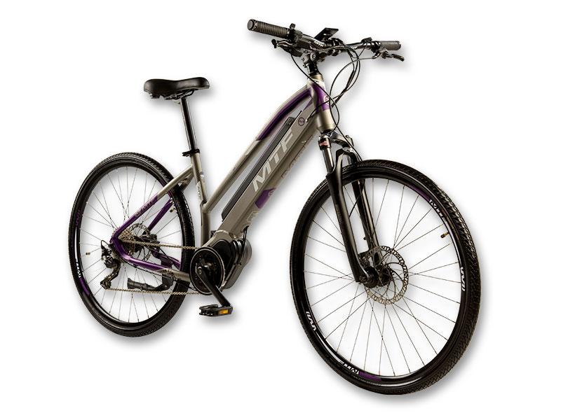 """Elektrinis hibridinis CROSS Moteriškas 7.0 dviratis 17""""/19"""""""