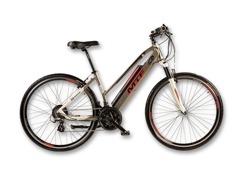 """Elektrinis hibridinis CROSS Moteriškas 3.0 dviratis 17""""/19"""""""