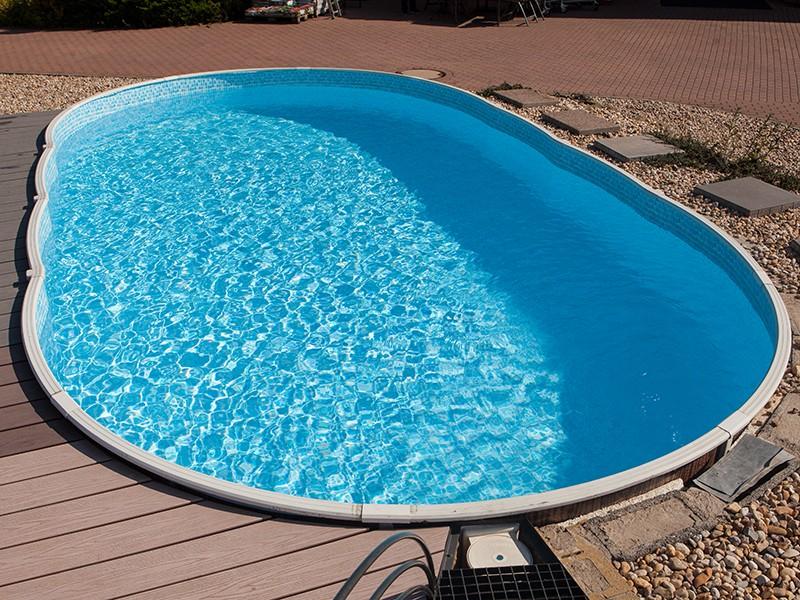 Baseino plėvelė MOZA AZVAR baseinui 9,1 x 4,6 x 1,2 m Ovalas