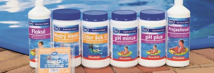 Baseinų vandens chemija
