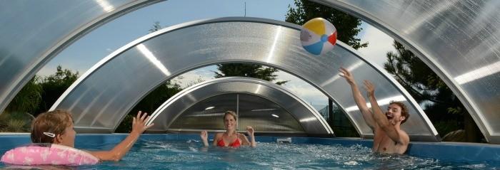 Lauko baseinų uždengimai