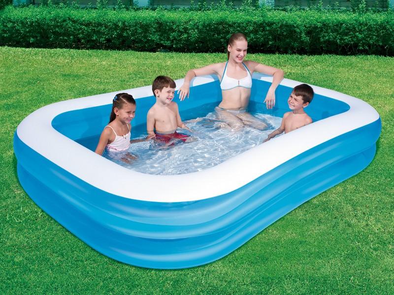Pripučiamas baseinas vaikams 262 cm x 175 cm x 51 cm.