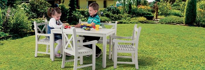 Lauko baldai vaikams