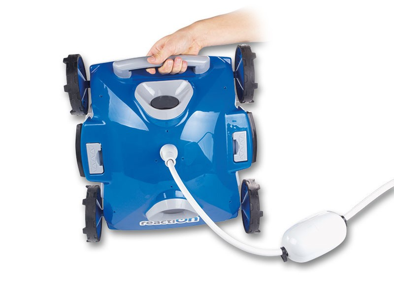 Baseino dugno valymo robotas REACTION