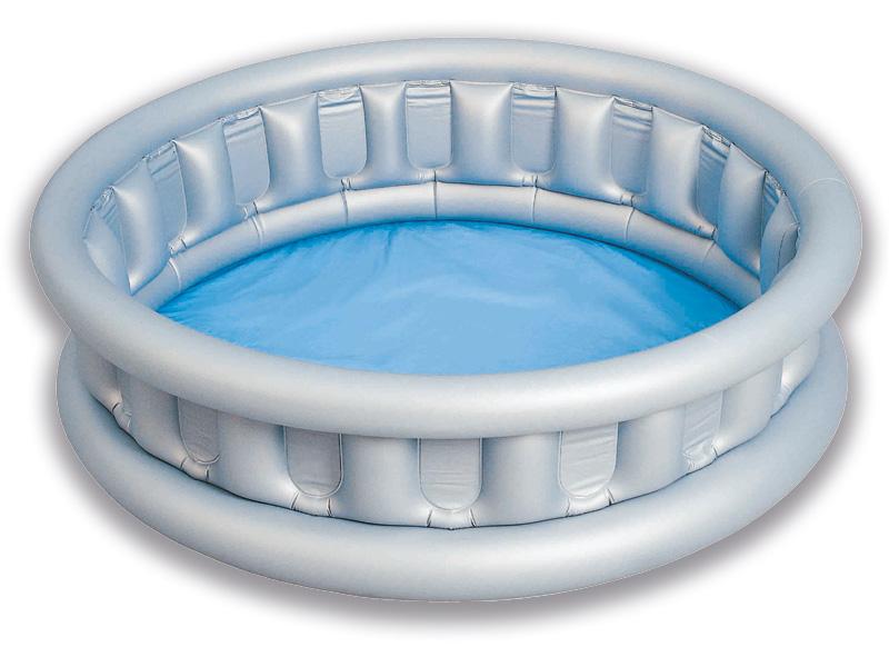 Vaikų baseinas Skraidanti lėkštė 1,57x0,41m