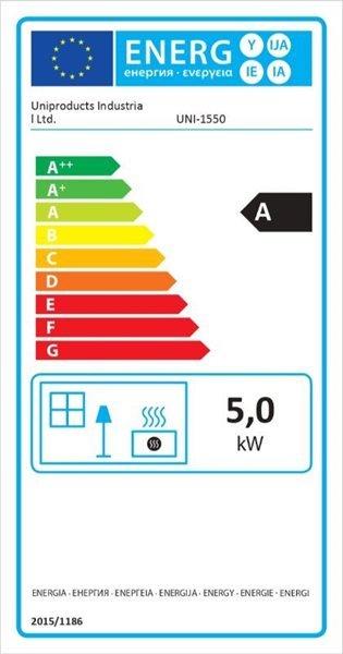 Krosnelė 2,5 – 5,5 kW